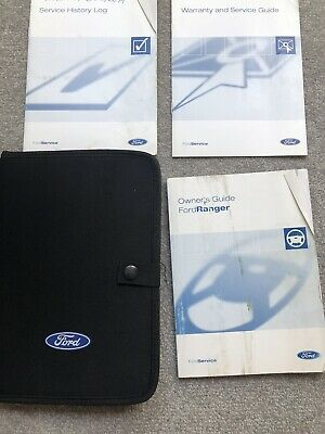 98-06 Ford Ranger Owners Handbook Manual Pack And Wallet 2004