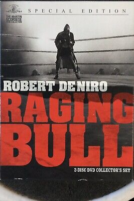 Raging Bull Dvd Special Edition 2 Discs - No reserve