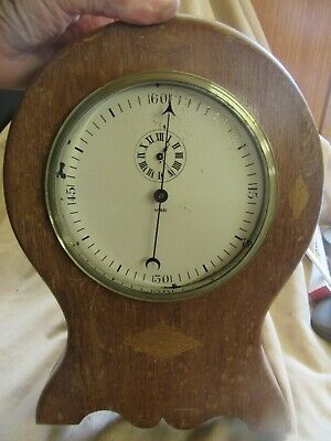 Wooden Case Clock with an Unusual Centre Seconds Movement with Lever Platform
