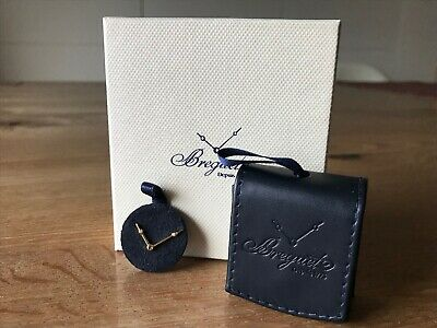 Pin Breguet - Gold Plated With Leather Case - For Watches Orologi Collectors