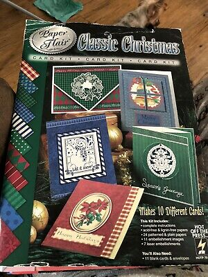 Paper Flair Classic Christmas Card Kit