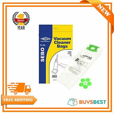 Sebo Electruepart  Vacuum Dust Bags For Sebo X C & G Series Pack Of 5 - Bag310