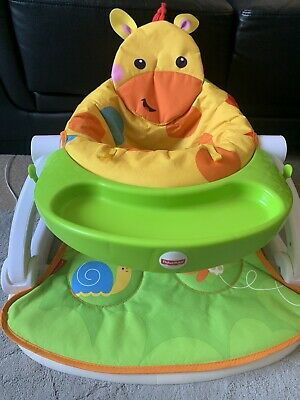 Fisher-Price Giraffe Sit-Me-Up Portable Baby Chair Floor Seat