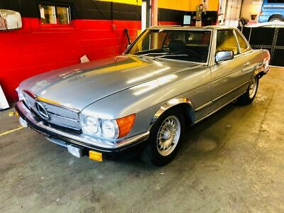 1980 Mercedes-Benz SL-Class SL280 1980 MERCEDES-BENZ SL280 * EUROPEAN BUMPERS * TURN KEY DRIVER * NO RESERVE *