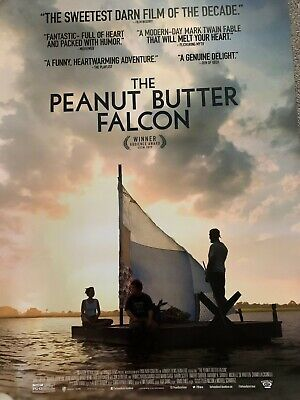 THE PEANUT BUTTER FALCON ORIGINAL 27x40 POSTER (2019) LABEOUF & JOHNSON