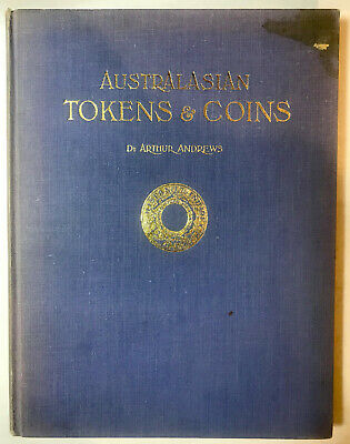 Australia Australian Token Tokens Coin Reference Hand book Catalog by A.Andrews