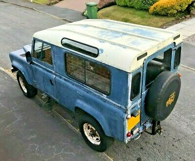 """Rare 100"""" Defender - Ideal project car on Range Rover Chassis V8 P38 LPG"""