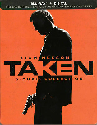 Taken 3-Movie Collection Limited Edition Steelbook [Blu-ray] New!!!!