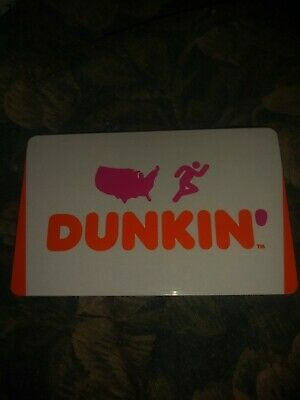 Dunkin' Donuts * Used Collectiable Gift Card No Value * FD65370