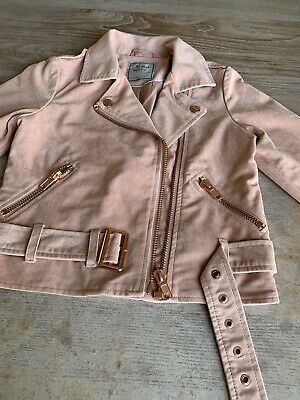 next girls jacket Age 7zip Pockets Zip Front And Belt As Feature