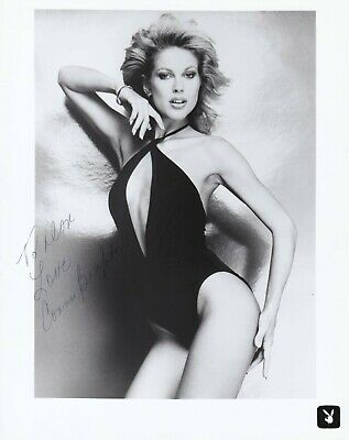 Connie Brighton VINTAGE Signed Swimsuit Promo Playboy Playmate Autographed