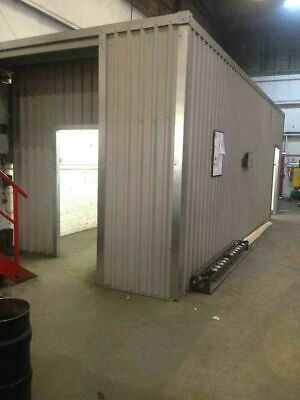 Steel Frame Building  Fully Bespoke LEAN TO three sided