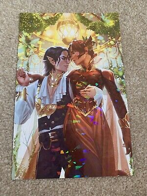 Owlcrate Queen Of Nothing Exclusive Jude And Cardan Foil Print