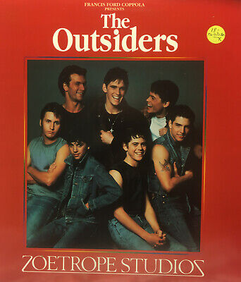 The Outsiders Rob Lowe Matt Dillon Patrick Swayze Francis Ford Coppola Laserdisc