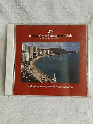 /CD - Hilton Grand Vacations Club - Songs from Hawaii's Top Recording Artists