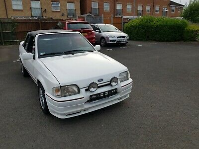 1989 Ford Escort  CABRIOLET CONVERTIBLE LHD LEFT HAND DRIVE