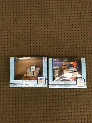 Peanuts Snoopy's Contest Winning Display Playset Lot Of 2 Memory Lane