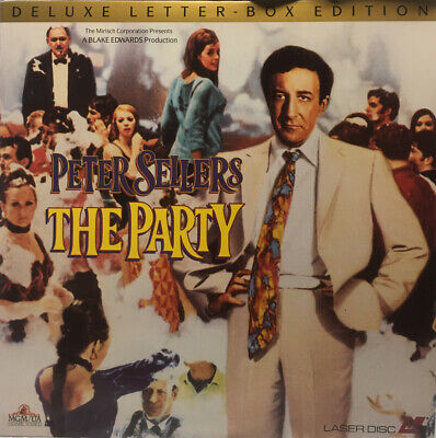 Peter Sellers The Party Deluxe Letterbox Edition Laserdisc