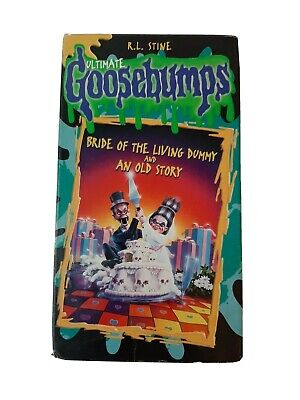 Ultimate Goosebumps R.L. Stine Bride of the Living Dummy and an old story VHS