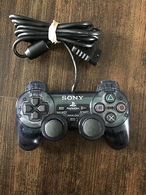 Playstation 2 Smoke Slate Gray Controller Dualshock 2 SCPH 10010 PS1 Compatible