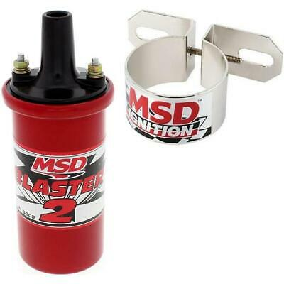 MSD 8202 Blaster 2 Ignition Coil with 8213 Coil Bracket