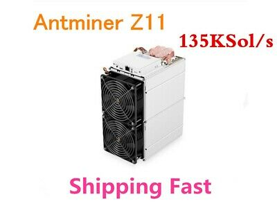 Bitmain Antminer Z11 used in Mint conditon + PSU 135ksol/s in hand in USA