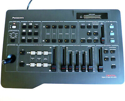 Panasonic WJ-AVE5 Digital Audio Video Mixer Prozessor Videomischpult
