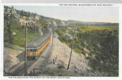Lot of  4  TRAIN  and DEPOT post cards