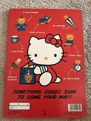 Vintage Sanrio Hello Kitty Grid Notebook