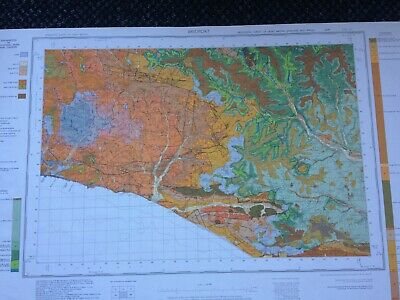 Geological Survey Map - Bridport - 1974 - Drift edition - Old map
