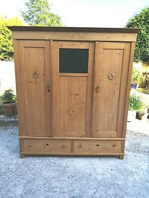 Antique Pine Knock Down Triple Wardrobe Delivery & Assembly Available