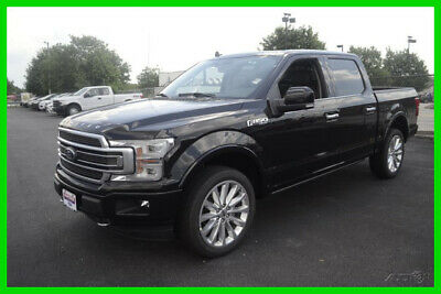 2019 Ford F-150 Limited 2019 Limited New Turbo 3.5L V6 24V 4WD Pickup Truck Moonroof