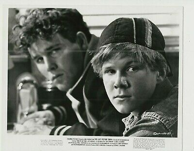 TIMOTHY BOTTOMS & JEFF BRIDGES UNSIGNED PICTURE  8x10' - THE LAST PICTURE SHOW