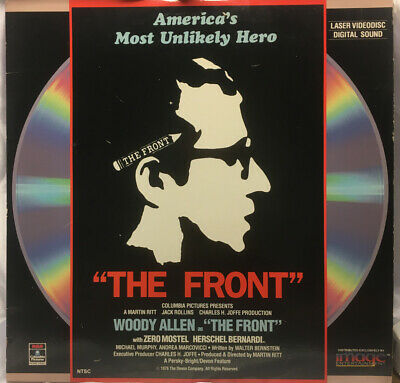 The Front  - Laserdisc  - Woody Allen - Movie