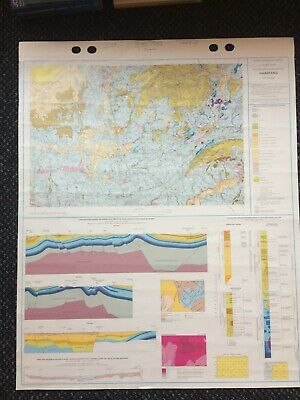 Geological Survey Map - Garstang - 1991 - Drift Geology - Lovely old map