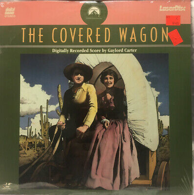 The Covered Wagon Laserdisc Sealed
