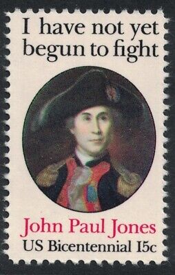 Scott 1789- John Paul Jones, Revolutionary War- 15c MNH 1979- unused mint stamp