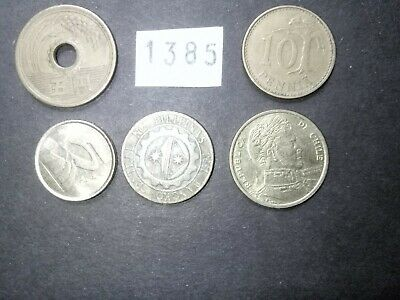 Lot 1385: World mix bulk foreign mixed coins vintage collection FREE SHIPPING