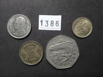 Lot 1386: World mix bulk foreign mixed coins vintage collection FREE SHIPPING