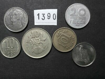Lot 1390: World mix bulk foreign mixed coins vintage collection FREE SHIPPING