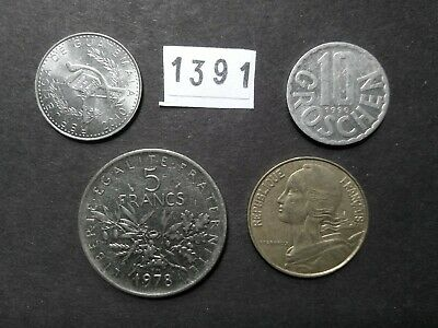 Lot 1391: World mix bulk foreign mixed coins vintage collection FREE SHIPPING