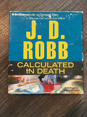 J.D. Robb Audiobook - Calculated In Death - CD