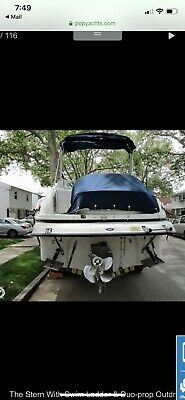 Boat with trailer Crownline 2005 25' 250 CR
