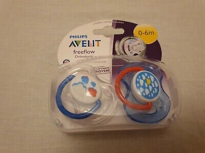 Brand New Philips Avent Dummies/soothers 0-6 Months