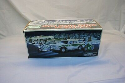 Hess 2004 Sport Utility Vehicle and Motorcycles with Box