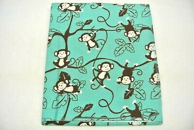 Monkeys Baby Blanket Can Be Personalized 36x40