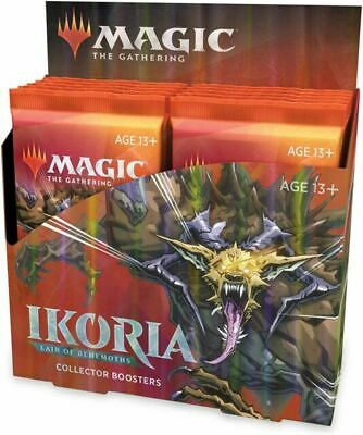 MTG Ikoria: Lair of Behemoths Collector Booster Box - Sealed box with 12 Packs