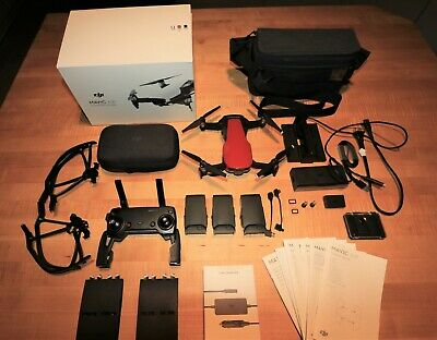 DJI Mavic Air Fly More Combo - Red (Used in Excellent condition) - $15 Shipping