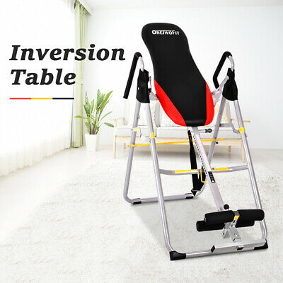 OneTwoFit INVERSION TABLE HANGING Up Foldable Fitness Back Flip Upside DownOT079
