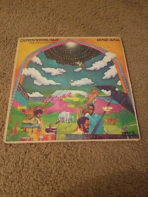 Ahmad Jamal Outer Time Inner Space Lp Vinyl Record